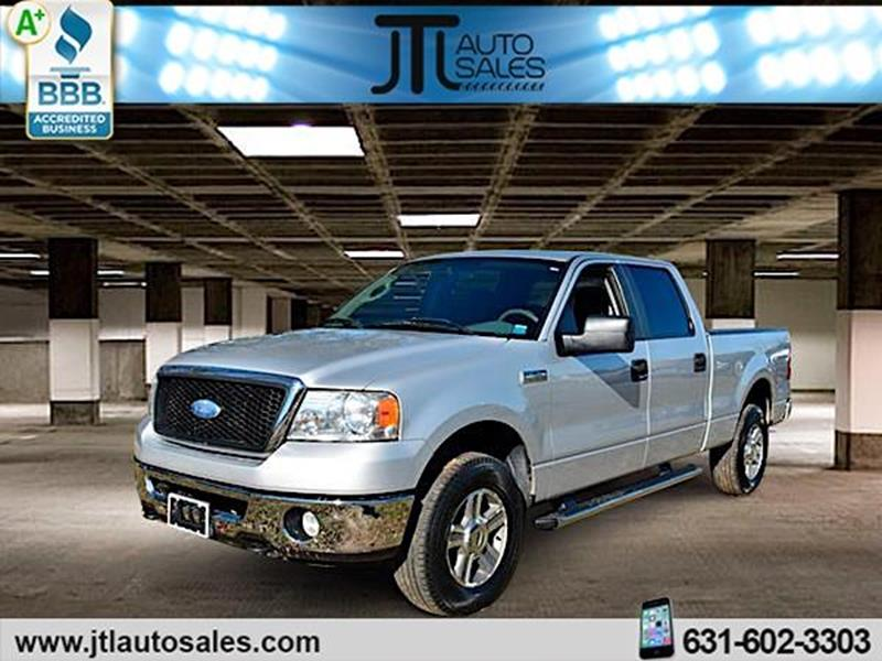 2007 Ford F 150 Xlt >> 2007 Ford F 150 4wd Supercrew 150 Xlt In Selden Ny Jtl