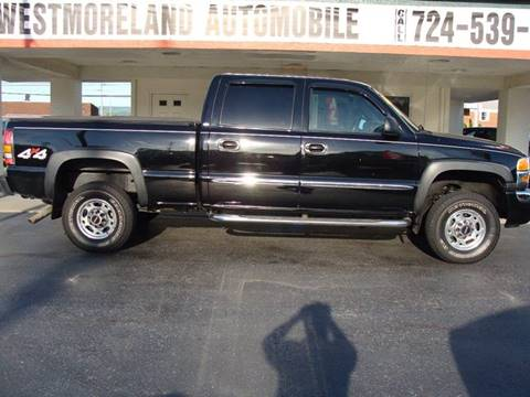 2006 GMC Sierra 2500HD for sale in Latrobe, PA