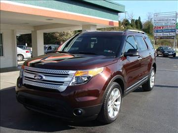 2012 ford explorer for sale in latrobe pa - Ford Explorer 2012 Black