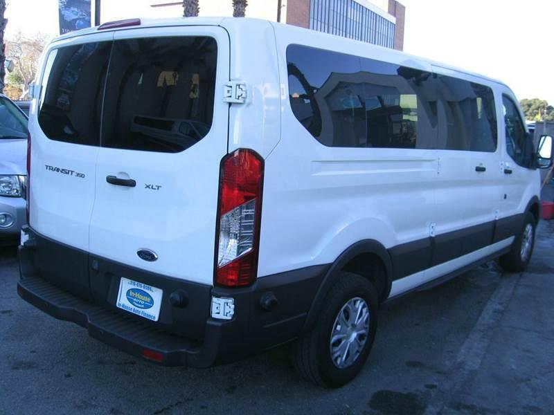2015 Ford Transit Passenger 350 XLT 60/40 Passenger Side Doors