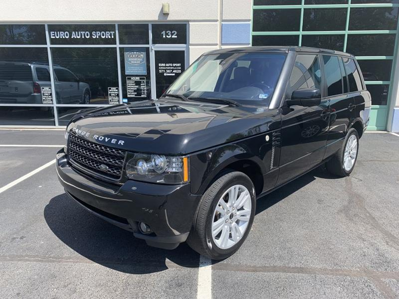 Land Rover Chantilly >> 2012 Land Rover Range Rover 4x4 Hse Lux 4dr Suv In Chantilly