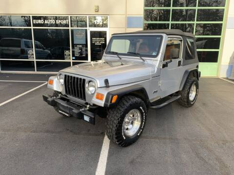 2002 Jeep Wrangler for sale in Chantilly, VA