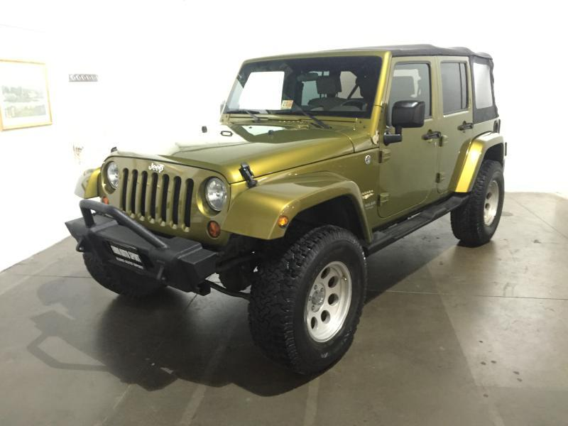 2008 jeep wrangler unlimited sahara 4x4 4dr suv w side airbag package in chantilly va euro. Black Bedroom Furniture Sets. Home Design Ideas
