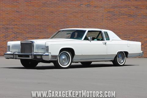 Used 1978 Lincoln Continental For Sale In Idaho Carsforsale Com