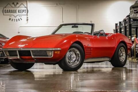 1970 Chevrolet Corvette for sale at Garage Kept Motors in Grand Rapids MI