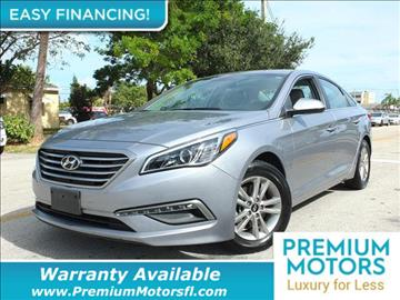 2015 Hyundai Sonata for sale in Pompano Beach, FL