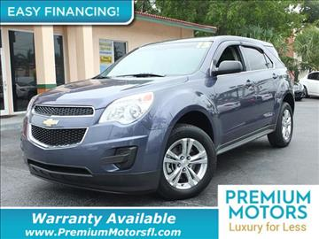 2013 Chevrolet Equinox for sale in Pompano Beach, FL