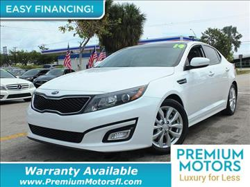 2015 Kia Optima for sale in Pompano Beach, FL