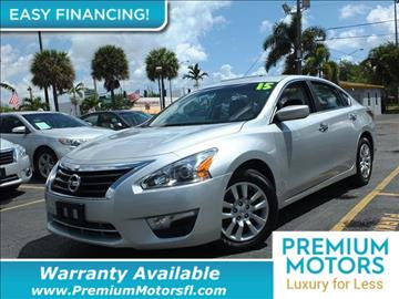 2015 Nissan Altima for sale in Pompano Beach, FL