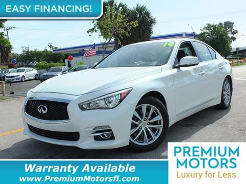 2014 Infiniti Q50 for sale in Pompano Beach, FL