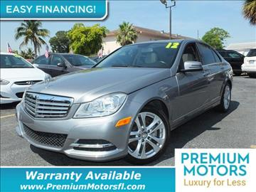 2012 Mercedes-Benz C-Class for sale in Pompano Beach, FL