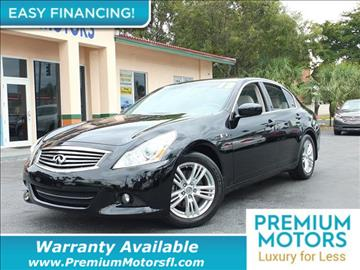 2013 Infiniti G37 Sedan for sale in Pompano Beach, FL