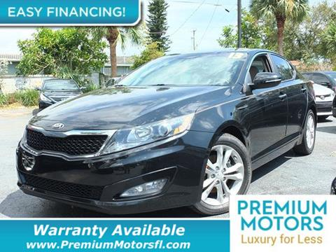 2013 Kia Optima for sale in Pompano Beach, FL