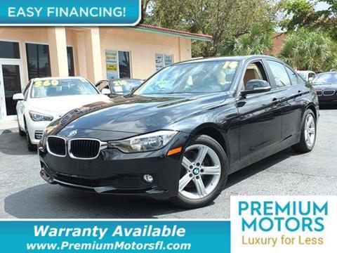 2014 BMW 3 Series for sale in Pompano Beach, FL