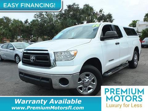 2010 Toyota Tundra for sale in Pompano Beach, FL