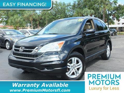 2011 Honda CR-V for sale in Pompano Beach, FL