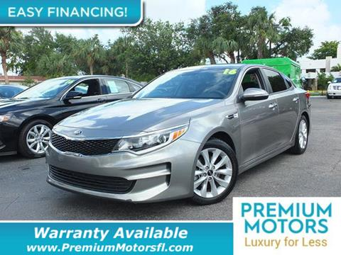 2016 Kia Optima for sale in Pompano Beach, FL