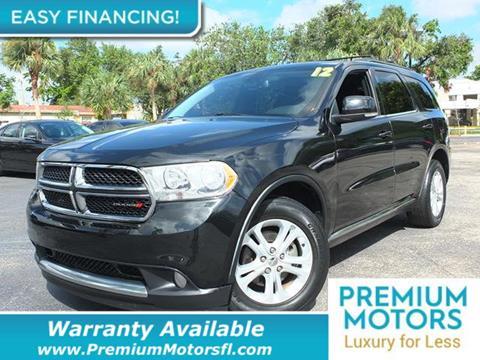 2012 Dodge Durango for sale in Pompano Beach, FL