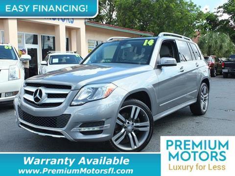 2014 Mercedes-Benz GLK for sale in Pompano Beach, FL