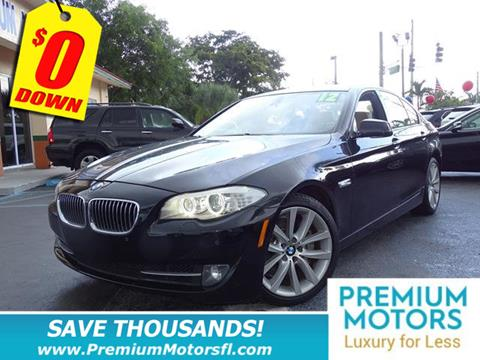 2012 BMW 5 Series for sale in Lauderdale Lakes, FL