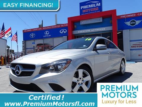 2016 Mercedes-Benz CLA for sale in Lauderdale Lakes, FL