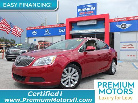 2016 Buick Verano for sale in Lauderdale Lakes, FL