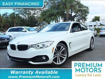 2014 BMW 4 Series for sale in Pompano Beach, FL