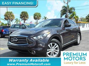 2013 Infiniti FX37 for sale in Pompano Beach, FL