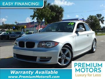 2011 BMW 1 Series for sale in Pompano Beach, FL
