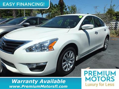 2014 Nissan Altima for sale in Pompano Beach, FL