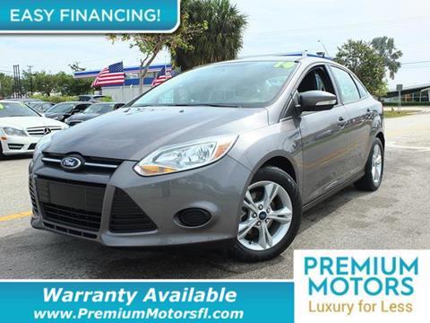 2014 Ford Focus for sale in Pompano Beach, FL