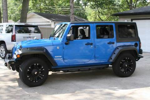 2011 Jeep Wrangler Unlimited for sale at Sam Buys in Beaver Dam WI