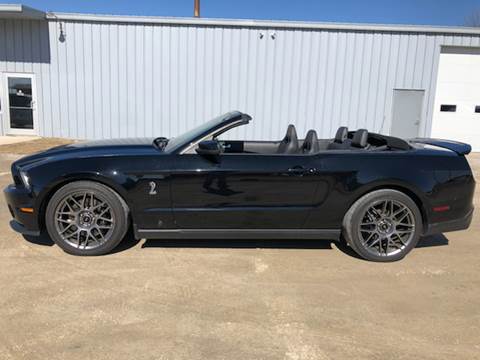 2012 Ford Shelby GT500 for sale at Sam Buys in Beaver Dam WI