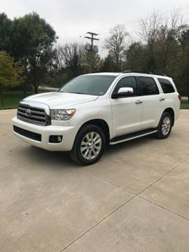 2015 Toyota Sequoia for sale at Sam Buys in Beaver Dam WI
