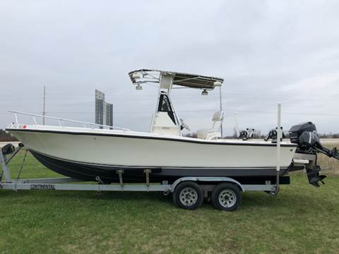 1996 MAKO MARINE 232 CENTER CONSOLE for sale at Sam Buys in Beaver Dam WI