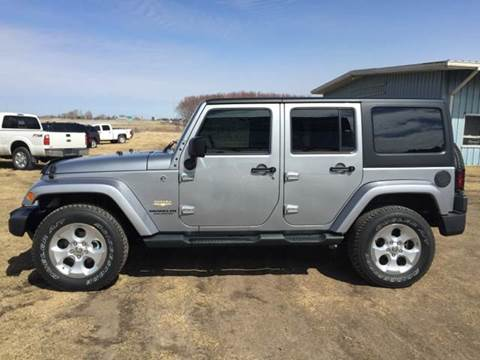 2014 Jeep Wrangler Unlimited for sale at Sam Buys in Beaver Dam WI