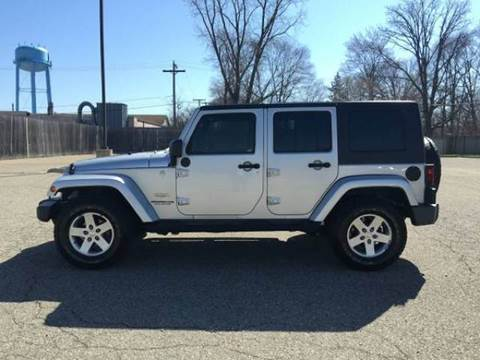 2010 Jeep Wrangler Unlimited for sale at Sam Buys in Beaver Dam WI