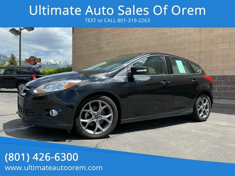 2014 Ford Focus for sale at Ultimate Auto Sales Of Orem in Orem UT