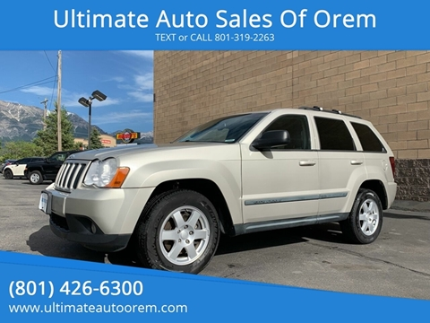 2009 Jeep Grand Cherokee for sale at Ultimate Auto Sales Of Orem in Orem UT