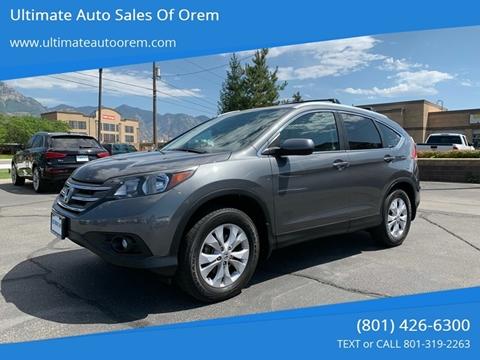 2012 Honda CR-V for sale at Ultimate Auto Sales Of Orem in Orem UT