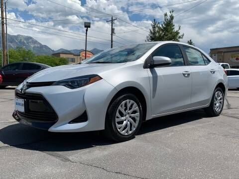2019 Toyota Corolla for sale at Ultimate Auto Sales Of Orem in Orem UT