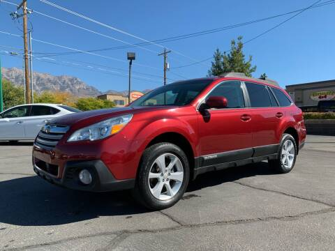 2014 Subaru Outback for sale at Ultimate Auto Sales Of Orem in Orem UT
