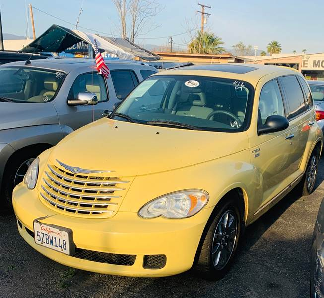 Chrysler 300 Salvage Title: 2007 Chrysler Pt Cruiser Touring 4dr Wagon W/Side Airbags