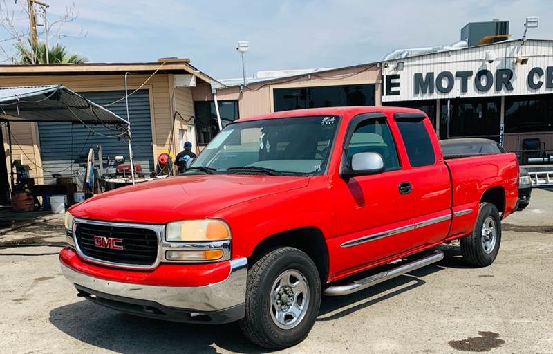 2000 Gmc Sierra 1500 3dr Sle 4wd Extended Cab Lb In San