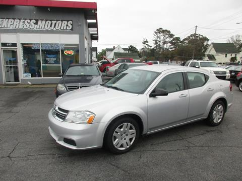 2011 Dodge Avenger for sale in Virginia Beach VA