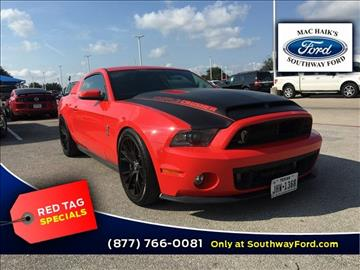 2012 Ford Shelby GT500 for sale in San Antonio, TX