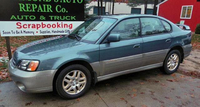 2002 Subaru Outback Limited Awd 4dr Sedan In Traverse City Mi