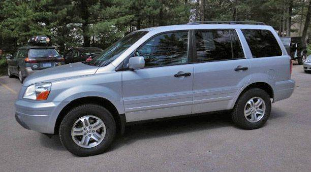 Nice 2003 Honda Pilot EX L 4WD 4dr SUV W/ Leather And Entertainment System (