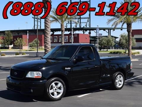 2004 Ford F-150 SVT Lightning for sale at AZMotomania.com in Mesa AZ