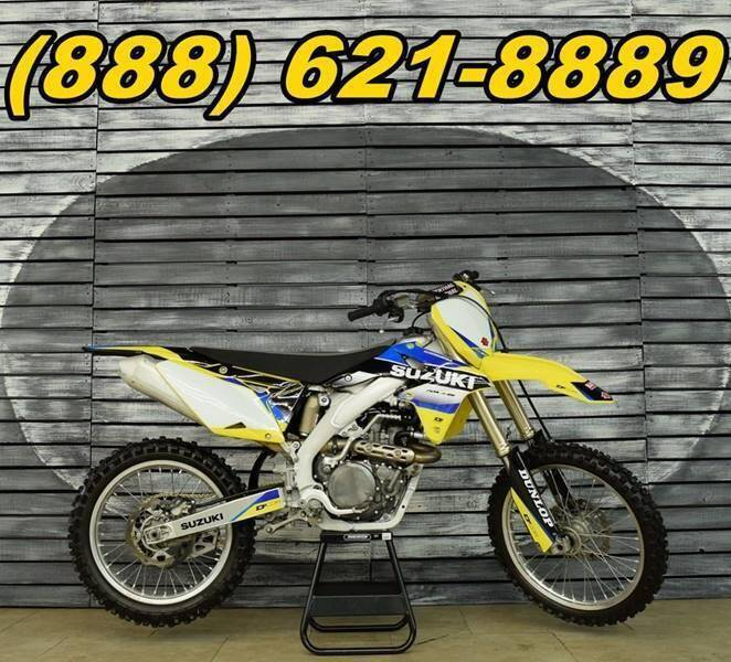 2015 Suzuki RM-Z450 for sale at AZMotomania.com in Mesa AZ